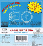 MC Boo and The Crew: Back To Bass-Ics: Cassette