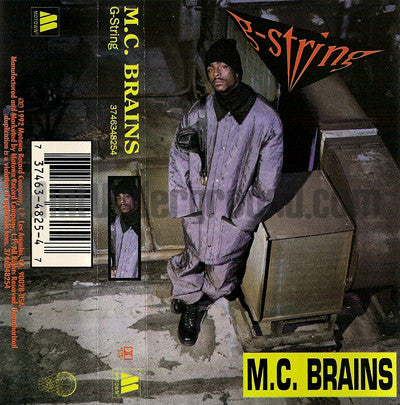 MC Brains: G String: Cassette Single