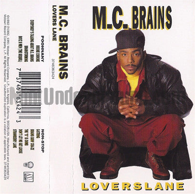 MC Brains: Lovers Lane: Cassette