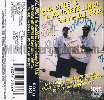MC Chile' & The Koncrete Jungo: Everything You Wanted To Know: Cassette