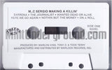 MC Sergio: Making A Killin': Cassette