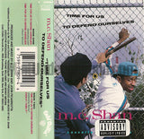 MC Shan: Time For Us To Defend Ourselves: Cassette Single