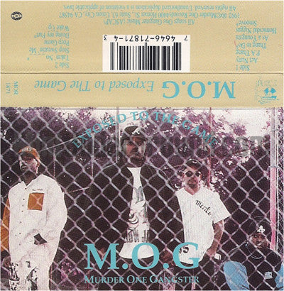 M.O.G: Exposed To The Game: Cassette
