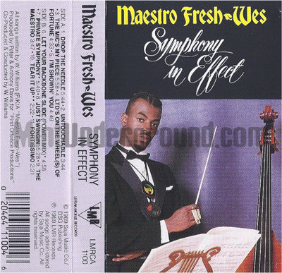 Maestro Fresh-Wes: Symphony In Effect: Cassette