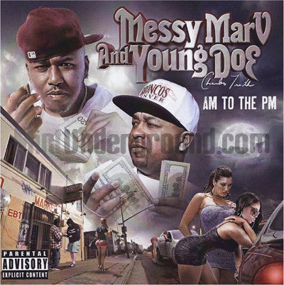 Messy Marv and Young Doe: AM To The PM: CD