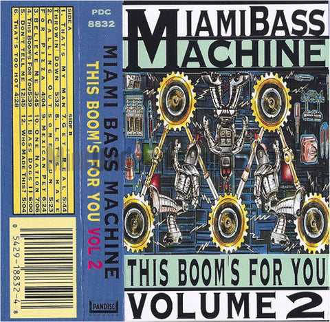 Various Artists: Miami Bass Machine: The Boom's For You Vol 2: Cassette