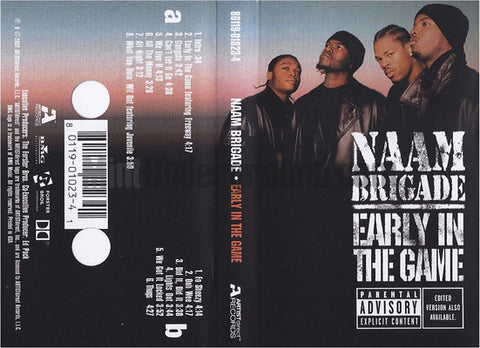 Naam Brigade: Early In The Game: Cassette
