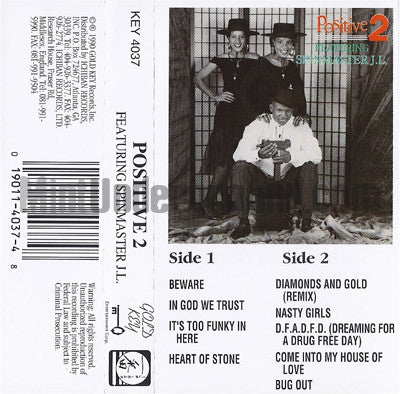 Positive 2 featuring Spinmaster J.L.: Positive 2 feat. Spinmaster JL: Cassette