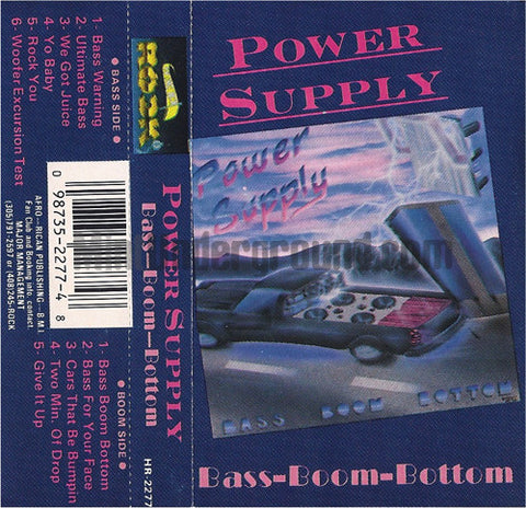 Power Supply: Bass Boom Bottom: Cassette