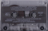 Professor X: Years Of The 9, On The Blackhand Side: Cassette