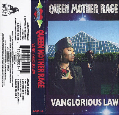 Queen Mother Rage: Vanglorious Law: Cassette