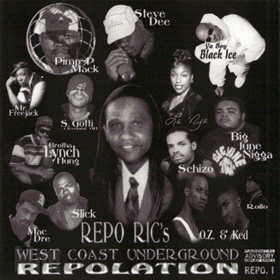 Repo Ric's West Coast Underground Repolation Repo 1: CD