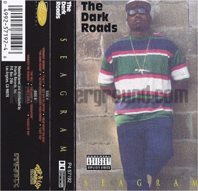 Seagram: The Dark Roads: Cassette
