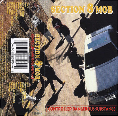 Section 8 Mob: Controlled Dangerous Substance: Cassette