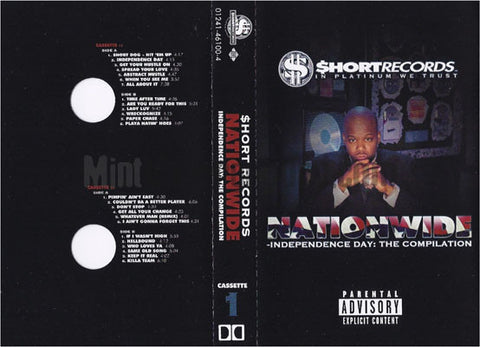 Various: Short Records: Nationwide Independence Day: Cassette
