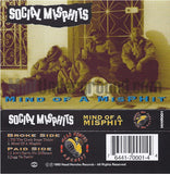 Social Misphits - Mind Of A Misphit: Cassette