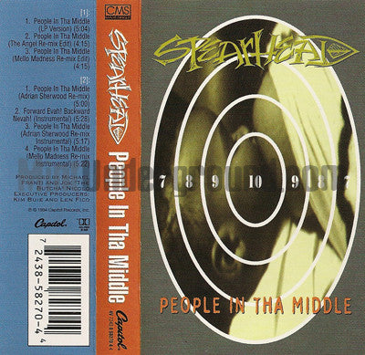 Spearhead: People In Tha Middle/Forward Evah Backward Nevah: Cassette Single