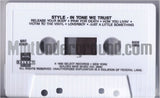 Style: In Tone We Trust: Cassette