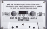 Sweetenlo: Not To Be Tooken Lightly: Cassette