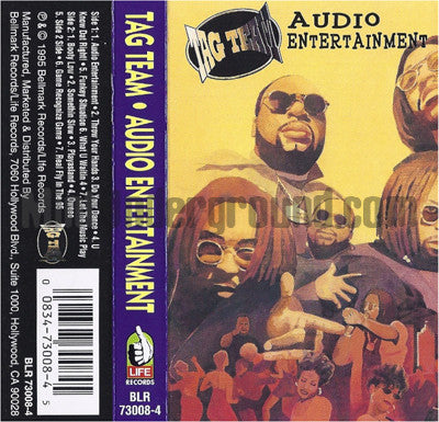 Tag Team: Audio Entertainment: Cassette