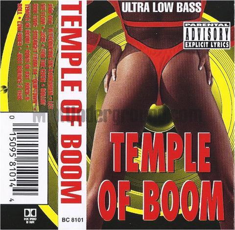 Temple Of Boom: Temple Of Boom: Cassette