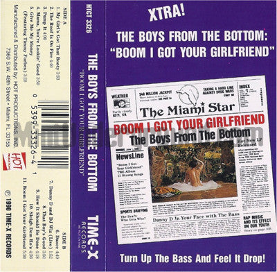 The Boys From The Bottom: Boom I Got Your Girlfriend: Cassette