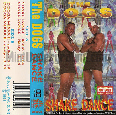 The Dogs: Shake Dance/Dogga Mixxx II: Cassette Single