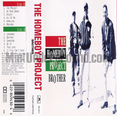 The Homeboy Project: Brother: Cassette