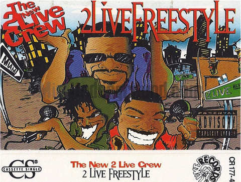 The New 2 Live Crew: 2 Live Freestyle: Cassette Single