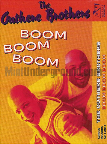 The Outhere Brothers: Boom Boom Boom: Cassette Single