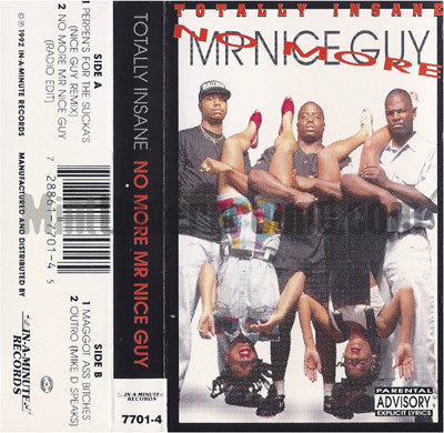 Totally Insane: No More Mr. Nice Guy: Cassette