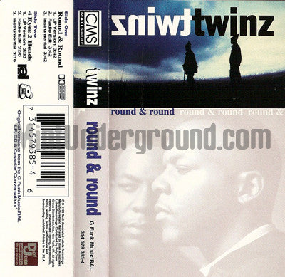 Twinz: Round & Round/4 Eyes 2 Heads: Cassette Single