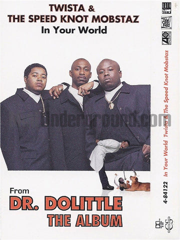 Twista and The Speed Knot Mobstaz: In Your World: Cassette Single