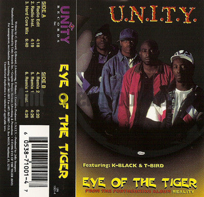 U.N.I.T.Y./UNITY: Eye Of The Tiger: Cassette Single