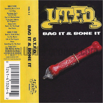 U.T.F.O.: Bag It & Bone It: Cassette