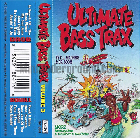 Various Artists: Ultimate Bass Trax Volume 3: Cassette