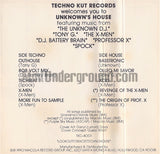 Various Artists: Techno Kut Records: Unknown's House: Cassette