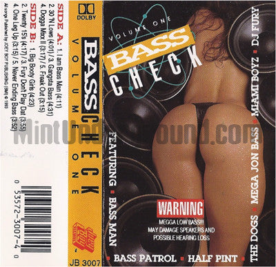 Various Artists: Bass Check: Volume One: Cassette
