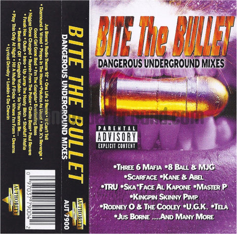Various Artists: Bite The Bullet: Dangerous Underground Mixes: Cassette