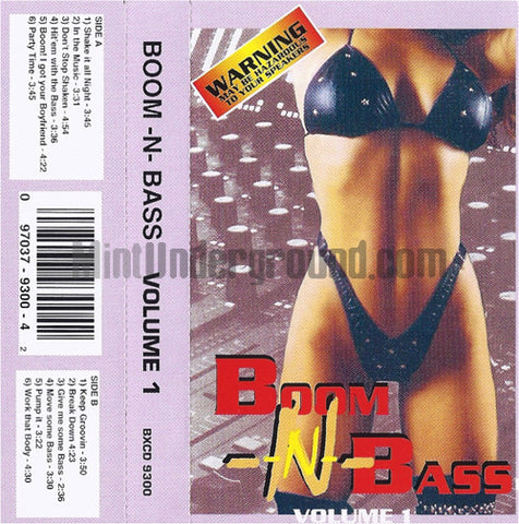 Various Artists: Boom-N-Bass Volume 1: Cassette