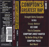 Various Artists: Compton's Greatest Rap: Volume 2: Cassette