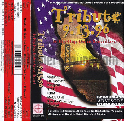 Various Artists: D.H.X. Entertainment: Tribute 9-13-96: Cassette