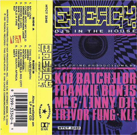 Various Artists: Energy: DJ's In The House: Cassette