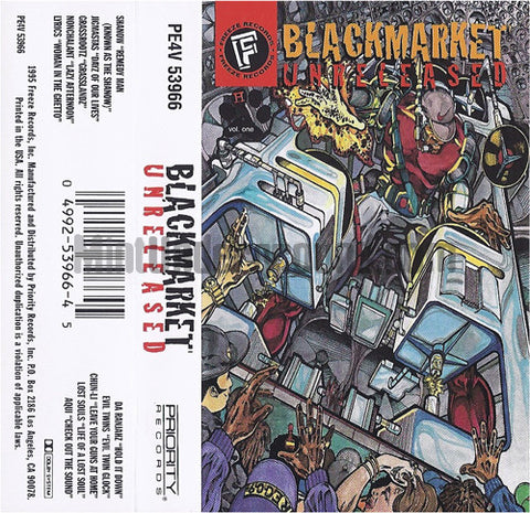 Various Artists: Freeze Records: Blackmarket Unreleased: Cassette