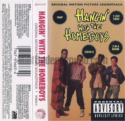 Various Artists: Hangin' With The Homebodys: Cassette
