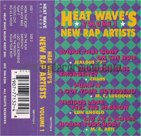 Various Artists: Heat Wave's New Rap Artists Volume 1: Cassette