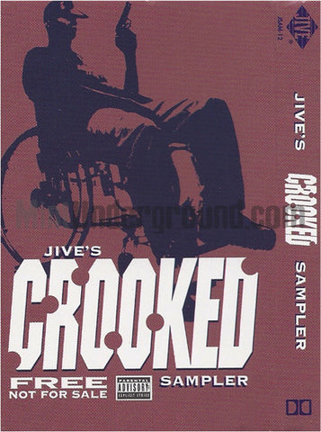 Jive's Crooked Sampler: Just Call Me Murderer/When I Rise/Rest In Peace: Cassette: Promo