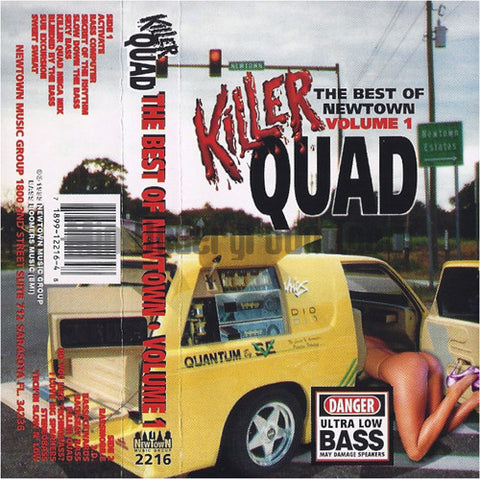 Various Artists: Killer Quad: The Best Of Newtown Volume 1: Cassette