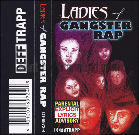 Various Artists: Ladies Of Gangster Rap: Cassette