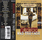 Various Artists: Murder Was The Case: The Soundtrack: Cassette